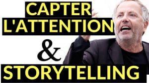3 secrets de storytelling par Fabrice Luchini